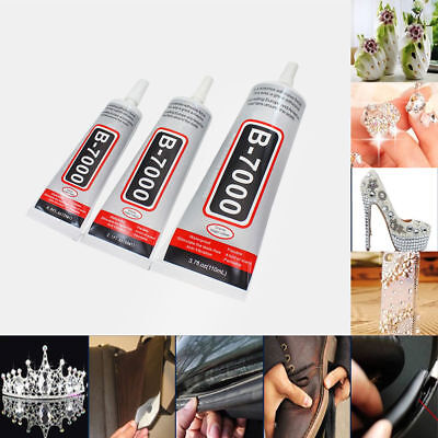 B-7000 Glue Industrial Adhesive for Phone Frame Bumper Jewelry 10ml 50ml 110ml