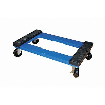 Milwaukee Heavy Duty 1,000-lb Capacity Blue Resin Dolly Moving Furniture, NEW!