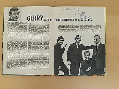 TOP TWENTY 1960s ANNUAL SIGNED By GERRY MARSDEN From GERRY and the PACEMAKERS