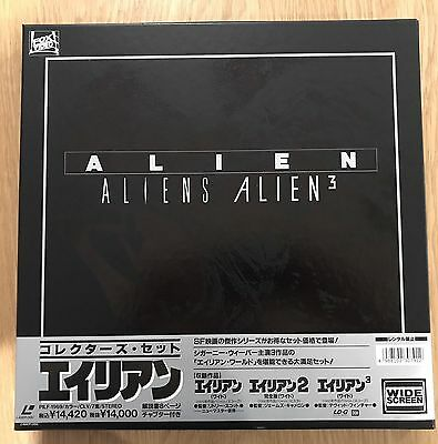 alien 1,2 &3 ntsc laserdisc box set