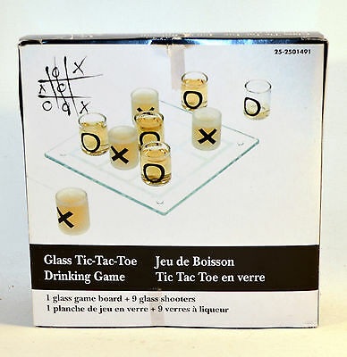Shot Glass Tic-Tac-Toe Drinking Game