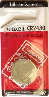 Any 4 Maxell Lithium Coin Battery CR1616/1620/2032/2016/1216/A27 $8.99 Long Exp