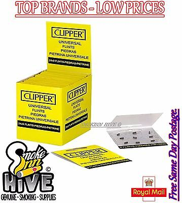 Clipper Lighter Flints Universal For All Lighters Types ** BUY 4 GET 2 FREE **