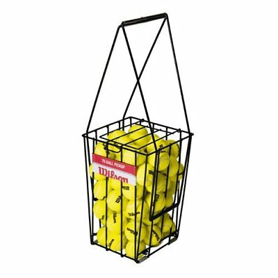 Wilson Ez Pick-up 75 / Z3235 Ball Collection Basket for Training Black