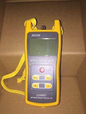 Signstek -50 to +26dBm 800~1700nm Optical Power Meter Tester FC SC ST Handheld O