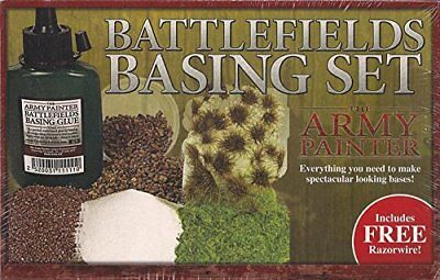 The Army Painter Battlefields Basing Set With Free Razor Wire (E8r)