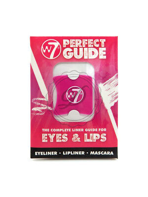 W7 Perfect Guide - Eyeliner Cat Eye Flick Liquid Lip Mascara Template Stencils