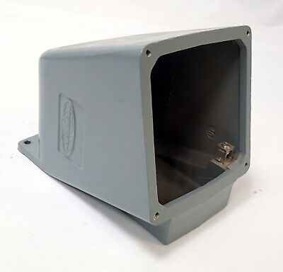 Hubbell Back Boxes Gray Finish Pin And Sleeve Cast Aluminum 15 Degree Angle