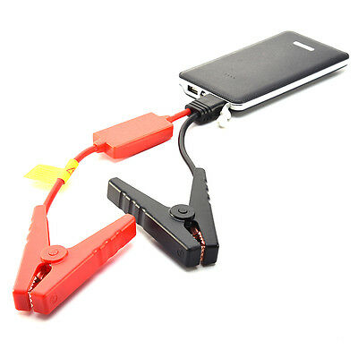 50800mAh 2USB Portable Car Jump Starter Pack Booster Charger Battery Power Bank