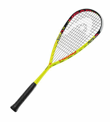 Head Graphene XT Cyano 120 Squash Racket.free next day delivery with cover.