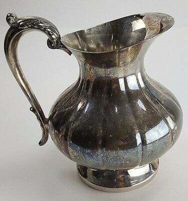 The Sheffield Silver Company Water Pitcher with Ice Guard 1.5 Quart Vessel