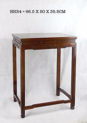 Chinese Qing Dynasty Huanghuali & Burlwood Wood Stand