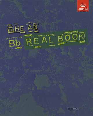 The AB Real Book Bb B flat Edition ABRSM Jazz Sheet Music Book Lead Sheets