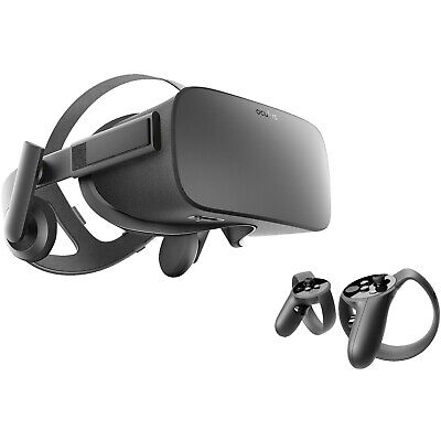 OCULUS Rift Virtual Reality Headset + Touch Motion-Controller, Virtual Reality B