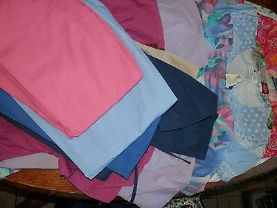 Huge Lot Of 15 Scrub Pants, Shirts, Jackets, Size XS-S, Free Shipping, Used