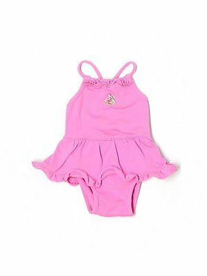 New Baby Infant Girl Gap Pink Skirted Swim Bathing Suit Size 0-3 Months