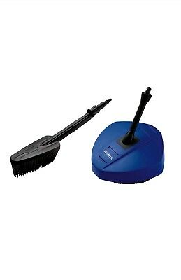 Patio and Car Cleaning Brush Set  for Nilfisk Pressure Washers