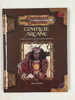 COMPLETE ARCANE - Dungeons and Dragons Third Edition D&D