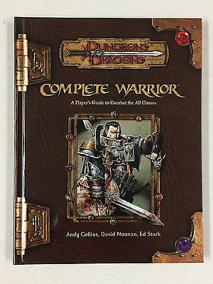 COMPLETE WARRIOR - Dungeons and Dragons Third Edition D&D