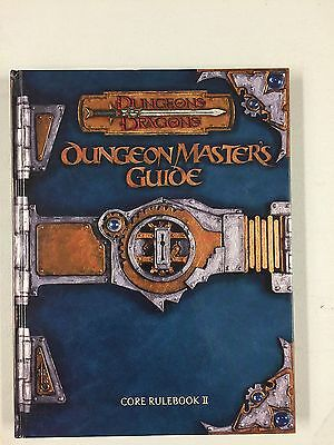 DUNGEON MASTER'S GUIDE - Dungeons and Dragons Third Edition D&D