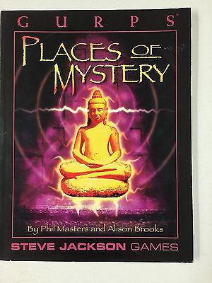 GURPS - PLACES OF MYSTERY - Steve Jackson Games