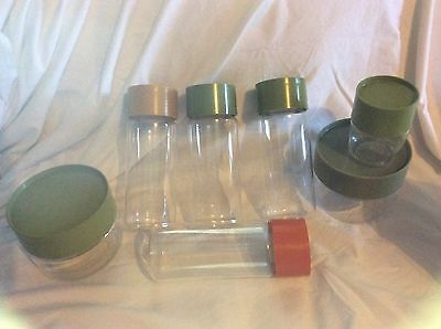 Vintage Pyrex Clear Storage Canisters USA Made Bulk Lot