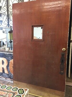 Craftsman Front Door 48x79 Solid Wood