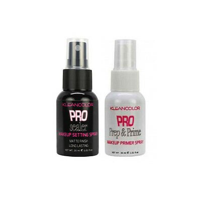 Kleancolor Pro Sealer Makeup Setting Prep Prime Spray Matte Finish Face Primer
