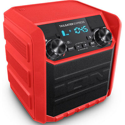 Ion Audio Tailgater Express 20W Water-Resistant Bluetooth Compact Speaker System