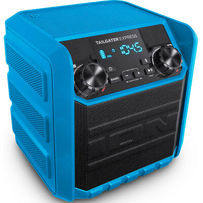 Ion Audio Tailgater Express 20W Water-Resistant Compact Bluetooth Speaker System