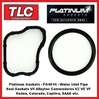 VZ VE VF Commodore Rodeo Captiva V6 Alloytec Water Inlet Gasket Oring Seals