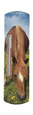 Heritage America by MORCO 375H Horse Outdoor or Indoor Thermometer 20-... NO TAX
