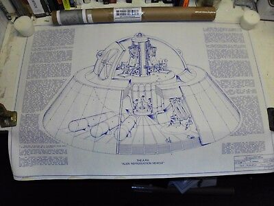 Blueprint for a faster than light speed vehicle (flying saucer)