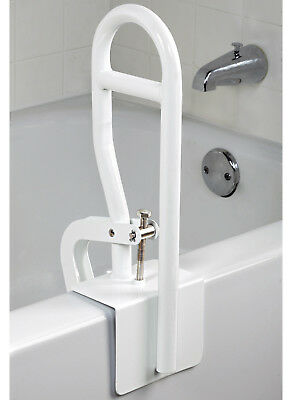 Bathtub Safety Bar Adjustable Grip Bathroom Bath Grab Shower Rail Safe Tub Hand