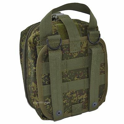 SPOSN SSO MOLLE Large First Aid Kit Pouch EMR Digital Flora Original Russian