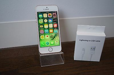 BRAND NEW CONDITION Apple iPhone SE - 16GB - Rose Gold Smartphone - AU STOCK