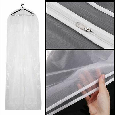 178cm Breathable Bridal Wedding Dress Gown Garment Cover Storage Bag Protecter