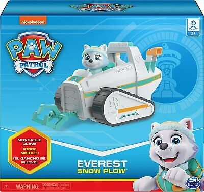 PAW PATROL Everest's Rescue Snowmobile Everest Figure & Vehicle *RARE* Everests