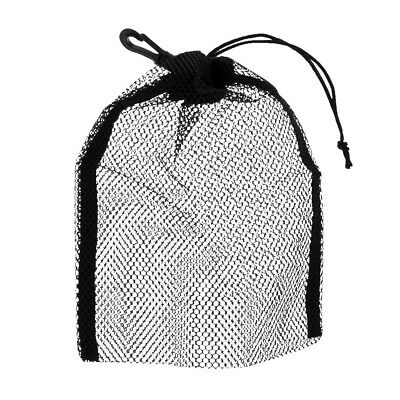 "Mesh Drawstring Bag for Swimming SCUBA Diving Snorkeling 9""x6.5"" Heavy Duty"