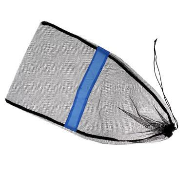 "Mesh Drawstring Bag for Dive Snorkel Mask Fin SCUBA Shell 25""x13"" Heavy Duty"