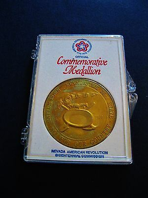 "USA  ""Official Commemorative Medallion""  in Acrylbox"
