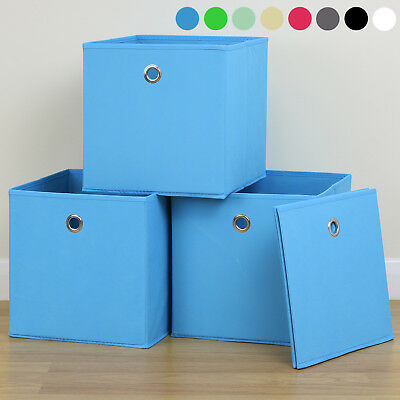 Foldable Cube Fabric Storage Box Drawer Toys/Books/Clothes Shelving Organiser