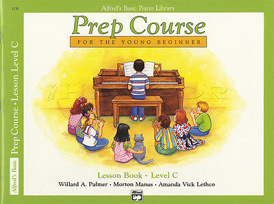 Alfred's Basic Piano Library Prep Course Lesson Level C Sheet Music Book