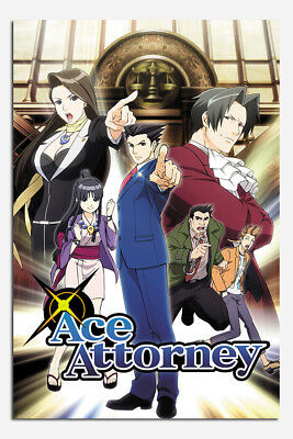 Ace Attorney Poster New - Maxi Size 36 x 24 Inch