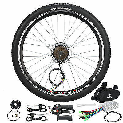 "36V E Bike Electric Bicycle Motor Conversion Kit 250W 26"" Rear Wheel Hub Cycling"