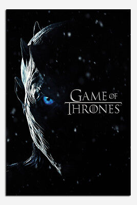 Game Of Thrones Season 7 Night King Poster New - Maxi Size 36 x 24 Inch