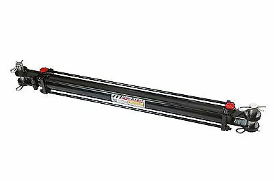 "Hydraulic Cylinder Tie Rod Double Action 2"" Bore 18"" Stroke 2500 PSI 2x18 NEW"
