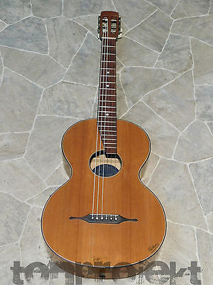 RARE Oswin August UEBEL all solid UEBOSA PARLOR GUITAR Gitarre Germany ~1920