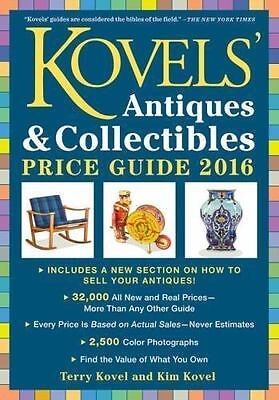 Kovels' Antiques & Collectibles Price Guide 2016  Good