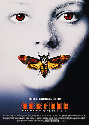The Silence of the Lambs V2 (1991) - A2 POSTER **LATEST BUY 1 GET 1 FREE OFFER**